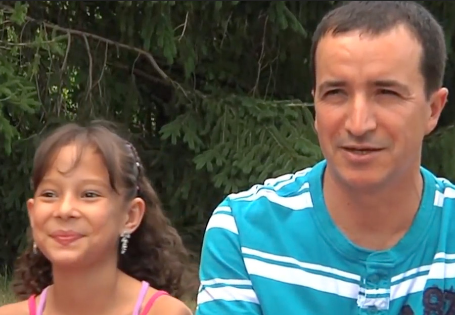Orrego Family Screenshot from Video